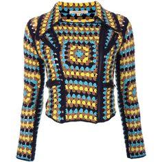 CHRISTOPHER KANE Crochet biker jacket ($2,705) found on Polyvore