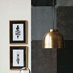 House Doctor via sweet home House Doctor, Sweet Home, Turbulence Deco, Brass Pendant Light, Wall Lights, Ceiling Lights, Stylish Kitchen, Blog Deco, Clever Design