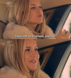 Made In Chelsea  Caggie - never understood what all the fuss was about