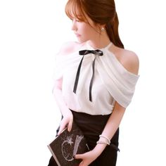 2016 Summer Style Halter Neck Bowknot Shirts Elegant ZANZEA Women Blusas Sexy Off Shoulder Blouses Casual Slim Chiffon Tops-in Blouses & Shirts from Women's Clothing & Accessories on Aliexpress.com | Alibaba Group