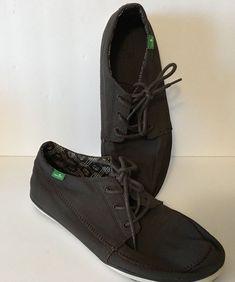 aff6a3df70a185 SANUK Men s Brown Cassius Sidewalk Surfer Shoe Size 9.5  Sanuk   SidewalkSurfer Sanuk Shoes