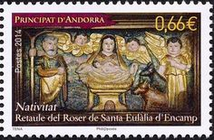 Stamp: Christmas (Andorra, French Administration) (Christmas) Yt:AD-FR…