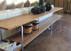 Side table achter de bank ikea steunen gebruikt met planken