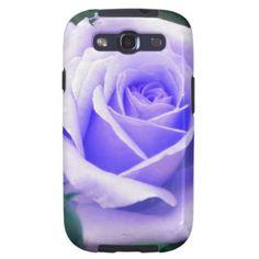 Pale Lavender Rose Samsung Galaxy S 3 case Samsung Galaxy S3 Cases