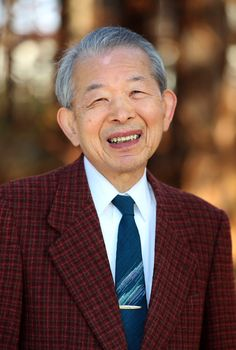 三浦光世館長 北海道新聞社提供 2013年11月