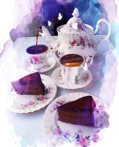 Enjoy afternoon tea ♡´・ᴗ・`♡ ☕️🦋🌷 Good Morning Sunday Pictures, Good Morning Coffee Images, Good Morning Beautiful Quotes, Good Morning Gif, Good Morning Flowers, Good Afternoon, Beautiful Love Pictures, Beautiful Gif, Happy Photography