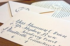 Such a fun script. Calligraphy Molly Jacques | blog: CORAL PHEASANT
