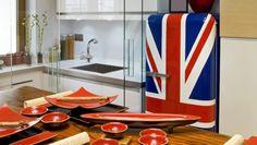 Resultado de imagem para móveis coloridos para cozinha