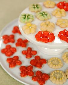 """Treat the cookie lover on your holiday gift list to a batch of these sweet sugar cookies, adapted from """"The Martha Stewart Living Christmas Cookbook."""""""