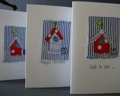 beach hut birthday card £3.50