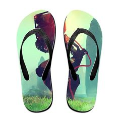 BEDOO Explore Universe Space Star Game Beach Flip-Flops Slipper Sandals ** You can find more details by visiting the image link.