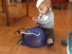 Very Messy Mummy: Older Baby Play Motor Activities, Infant Activities, Baby Safe, Baby Play, Fine Motor Skills, Life Skills, Pipe Cleaners, Children, Kids