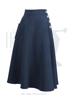 This website has great vintage organized by decade! 40s Whirlaway Skirt $77.88 - Navy
