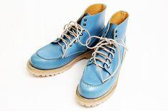ブッテロ BUTTERO ブーツ メンズ レザー ワークブーツ 靴 革靴 レースアップブーツ スムースレザー3802 Blue MENS BOOTS MEN'S 【送料無料】 ブルー【楽天市場】