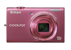 $99.00 Nikon COOLPIX S6200 16 MP Digital Camera with 10x Optical Zoom NIKKOR ED Glass Lens and HD 720p Video (Pink) by Nikon, http://www.amazon.com/dp/B005IGVXUW/ref=cm_sw_r_pi_dp_r-29qb03GGD8E