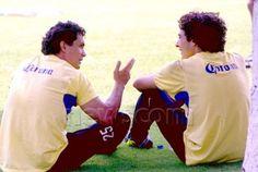 Adolfo Rios y Guillermo Ochoa