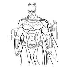 Dessin A Colorier Batman Super Heros 126 Coloriages A