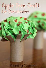 preschool apple tree craft cheer and cherry