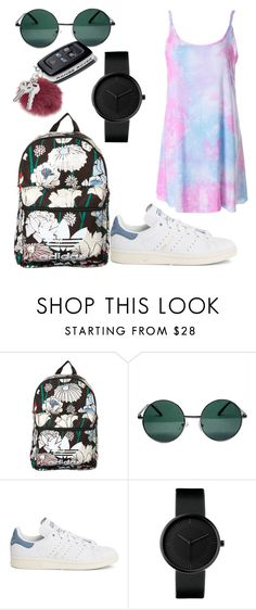 """""""Untitled #96"""" by dongoodleo ❤ liked on Polyvore featuring adidas Originals, YHF and adidas"""