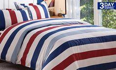 Get 62% #discount on Duvet Cover - Stripes #onlinedeals