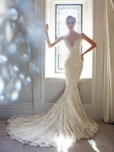 My absolute FAVE!!!!! Sophia Tolli Wedding Dresses - Style Leigh Y21432