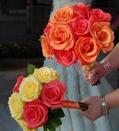 I like the top bouquet..