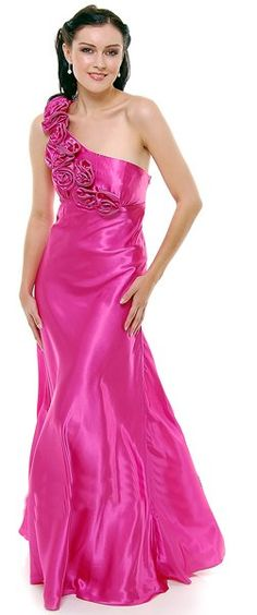 OFF Marchesa Notte Women's Lace Embellished Gown (Geranium) Silk Satin Dress, Pink Satin, Satin Dresses, Choir Dresses, Hot Pink Dresses, Embellished Gown, Red Chiffon, Beautiful Gowns, Special Occasion Dresses