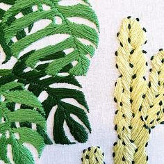 Details. Sarah Benning Contemporary Embroidery