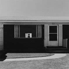 "Robert Adams, Colorado Springs, Colorado (1968). Adams was the senior photographer of the influential ""New Topographics: Photographs of a man-Altered Landscape"" held in 1975 at the Eastman House."