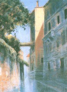 Władysław Podkowiński - Paris Alley, 1889