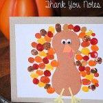fingerprint turkey craft