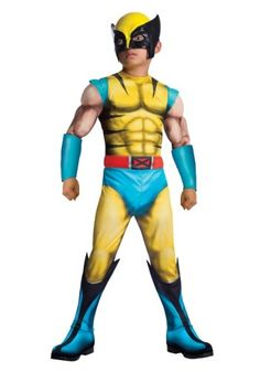 Child Deluxe Wolverine Costume. Baby Halloween ... 8959e49de93