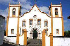 Catholic Church of Praia da Vitoria - Azores Portugal Sea Activities, Ellis Island, The Beautiful Country, Kirchen, Beautiful Islands, Portuguese, Places Ive Been, The Good Place, Portugal