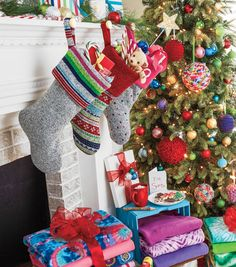 How to Make Fleece Sweater Stockings