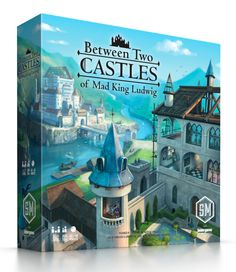 The king demands a castle! You are a world-renowned master builder who has been asked by the Mad King Ludwig to help design his castles. Will your planning and collaborative skills be enough to design the most impressive castles in the world? Wooden Castle, The End Game, Room Tiles, Yard Games, The Expanse, Attack On Titan, Book Design, Unique Art, Games To Play