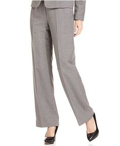 Kasper Pants, Straight Leg - Womens Suits & Suit Separates - Macy's