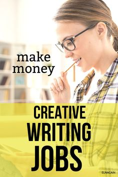 Do you have a hobby and want to make money with your hobby? Try freelance writing! Here are creative writing jobs to help you make money from home. Online Writing Jobs, Freelance Writing Jobs, Creative Writing Classes, Creative Jobs, Business Motivation, Business Tips, Make Money From Home, How To Make Money, Easy Online Jobs