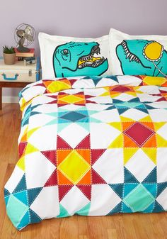 Quilt for the Day Duvet Cover