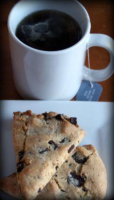 dark chocolate and orange scones, gluten free, grain free, paleo, delicious, brunch, breakfast, snack