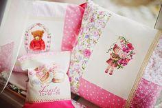 Embroidery at a glance / Вышивка на ладони: Розовые объятья.