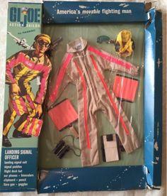 Hasbro GI Joe in 1966 dead stock of LSO (landing signal officer) box JAPAN 1094 #GIJoe