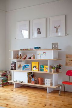 Great bookshelf from Oeuf NYC