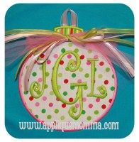 Ornament2 Applique Design