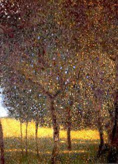 Artistic Mugs with Famous Paintings Verger Gustav Klimt Gustav Klimt, Art Klimt, Impressionist Artists, Landscape Quilts, Mountain Paintings, Oil Painting Reproductions, Fantastic Art, Artist Art, Portrait