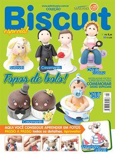 Artesanato - Biscuit : COL BISCUIT ESPECIAL 025 - Editora Minuano