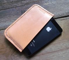 iPhone 5 Sleeve  Handmade by Wexman Trading in by WexmanTrading #manstyle #iphone5