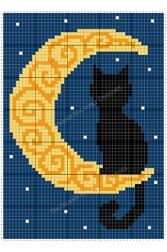 Crochet blanket patterns free 83246293099303084 - Crescent Moon Blanket – Highland Hickory Designs – Free Crochet Pattern Source by Crochet C2c Pattern, Pixel Crochet Blanket, Tapestry Crochet, Crochet Chart, Crochet Blanket Patterns, Cross Stitch Patterns, Free Crochet, Crochet Birds, Crochet Food