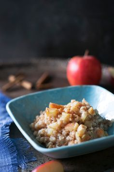 Omena-ohrapuuro | K-Ruoka  #aamupala #brunssi