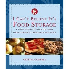 A simple, easy book to help you use food storage in everyday cooking!