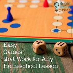 Easy Games that Work for Any Homeschool Lesson